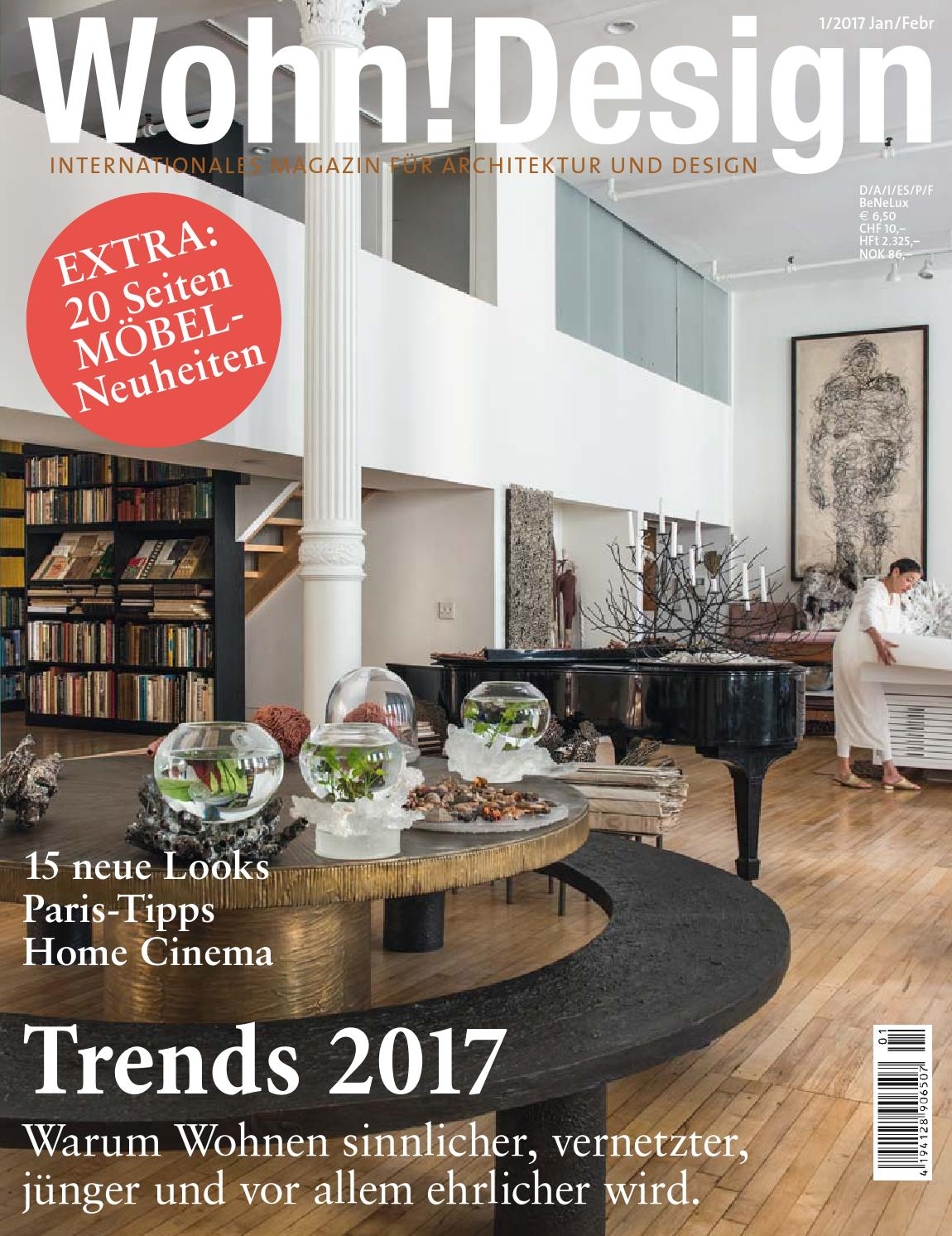 Wohn!Design 1/2017 by Wohn!Design - issuu