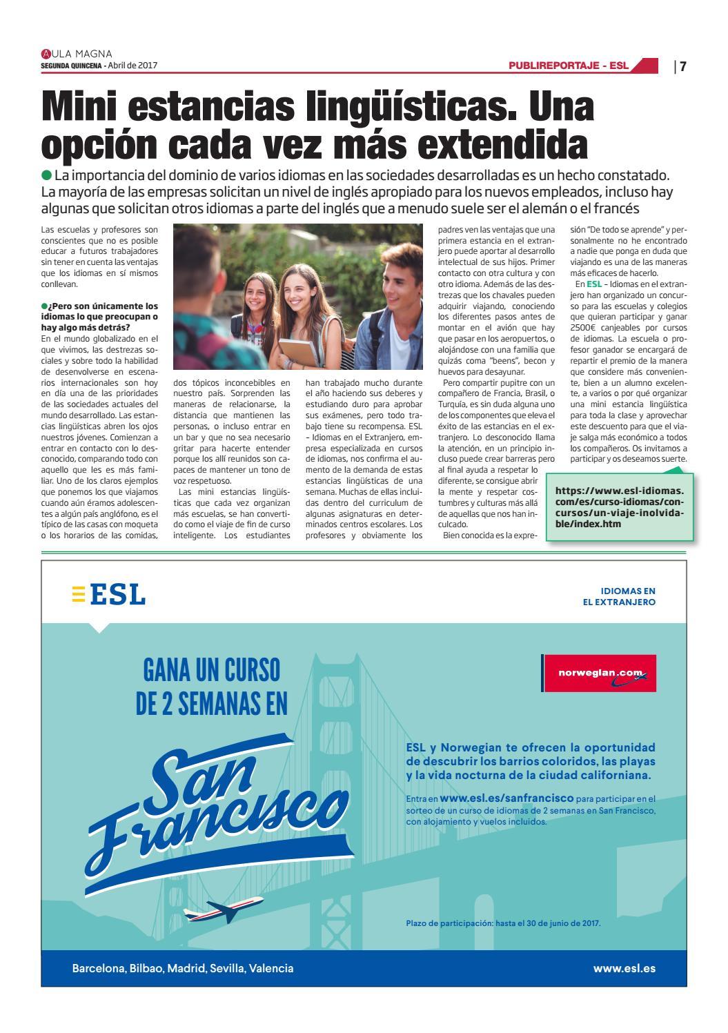 288 - Aula Magna - Edición Almería, Córdoba, Granada, Jaén y Málaga ...