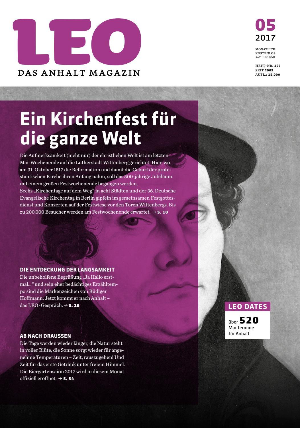 Mai 2017 by LEO – Das Anhalt Magazin - issuu