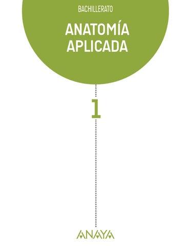 ANATOMÍA APLICADA by Grupo Anaya, S.A. - issuu
