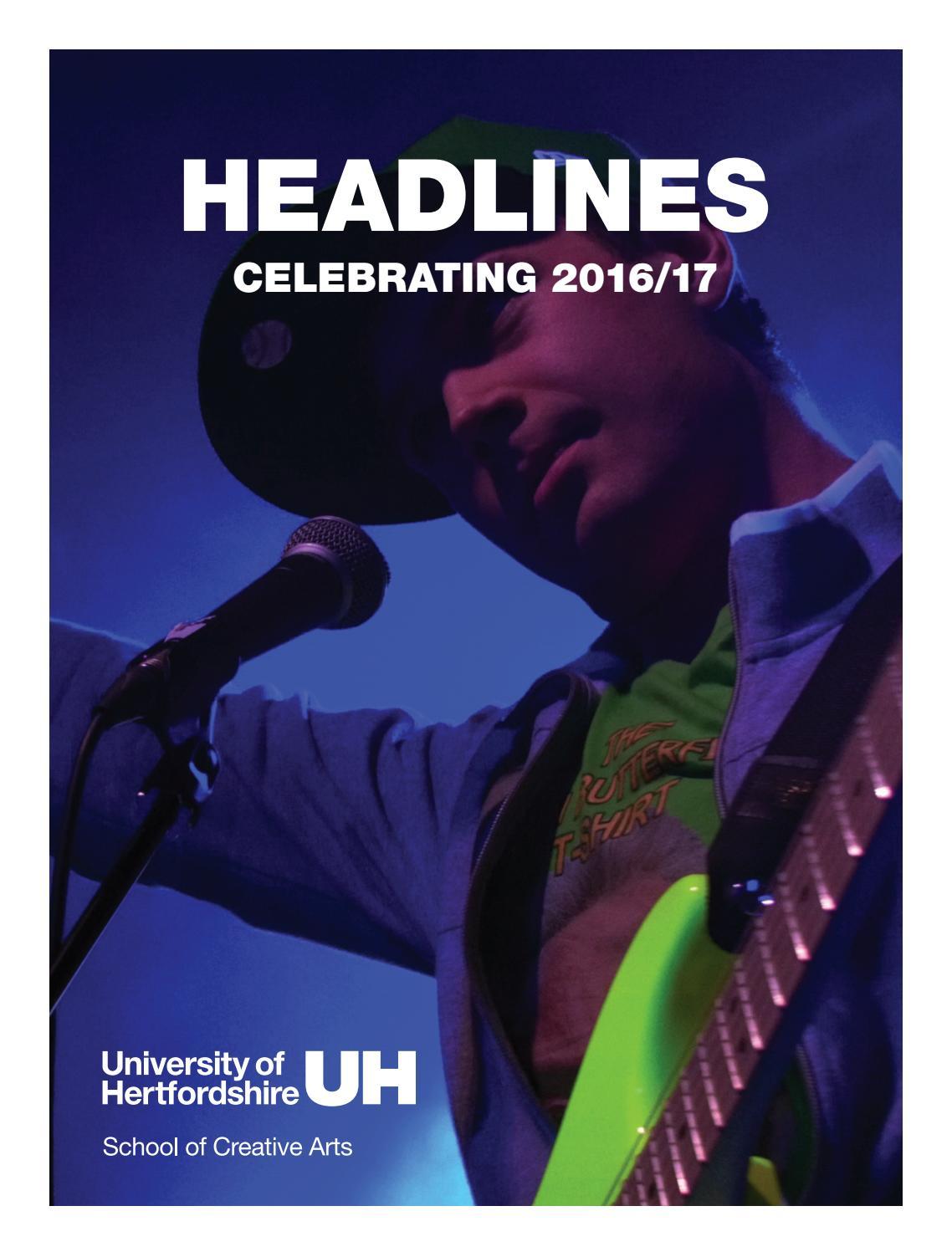 b8f10df39e Headlines 8  Celebrating 2016 17 by University of Hertfordshire - issuu