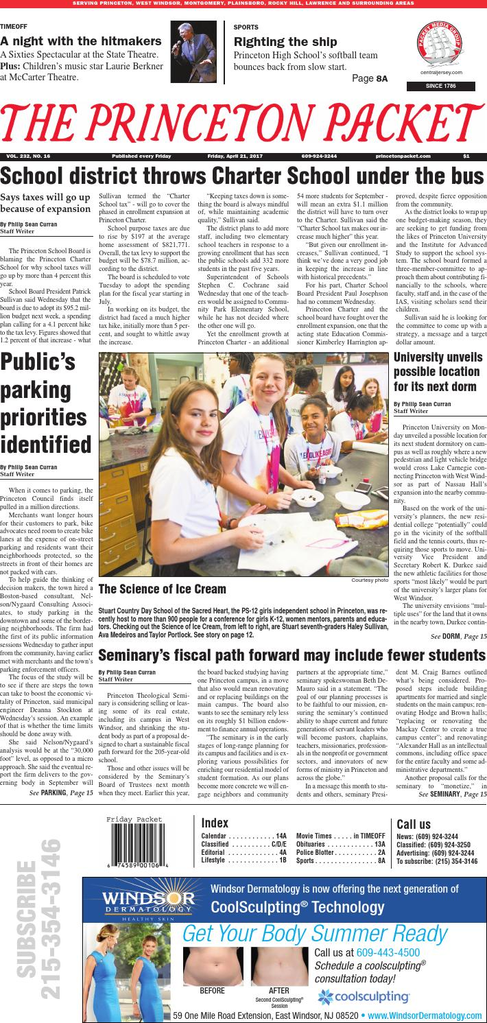 The Princeton Packet 2017-04-21 by centraljersey.com - NEWSPAPERS - issuu