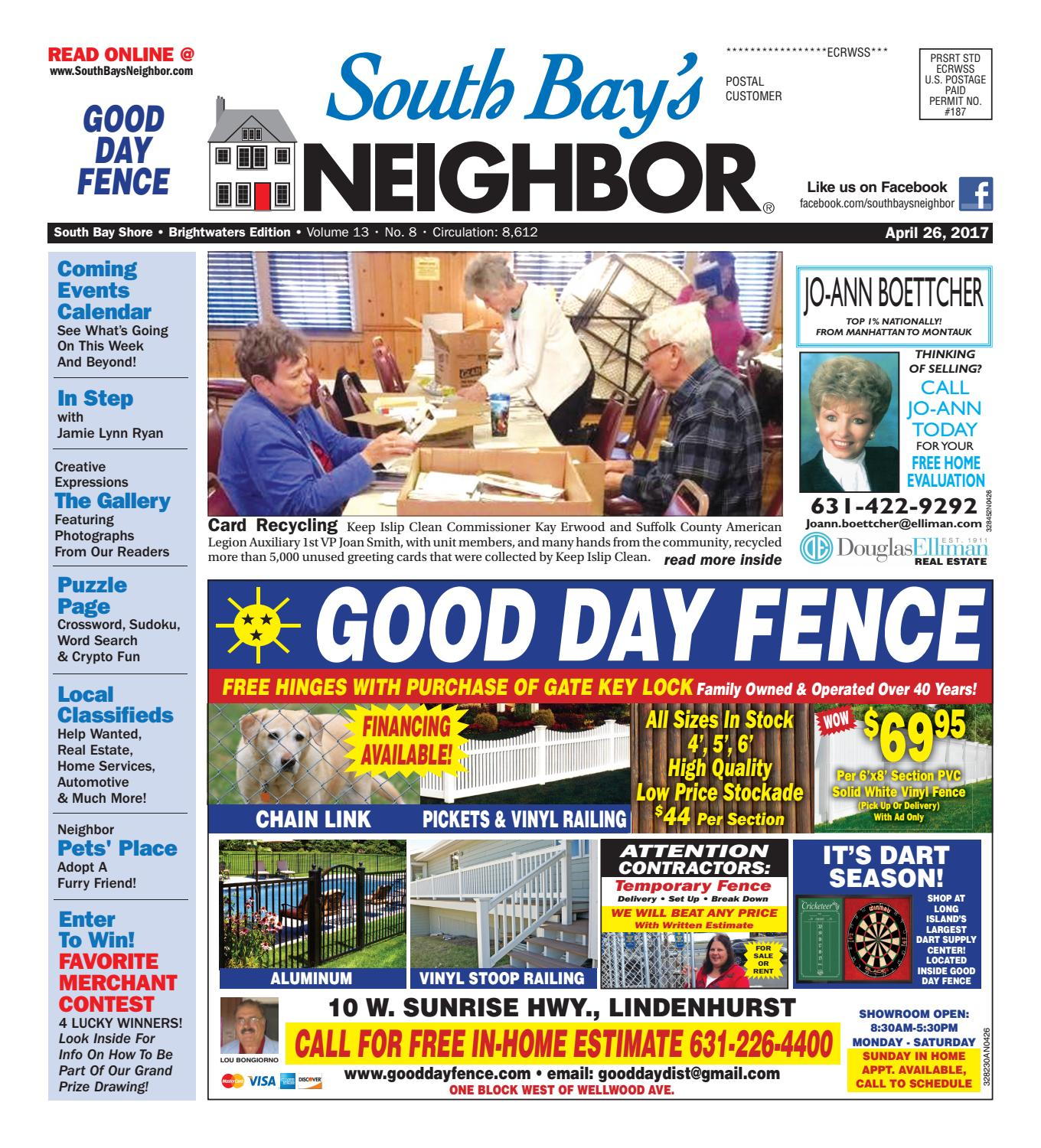 April 26 2017 South Bay Shore By South Bays Neighbor Newspapers