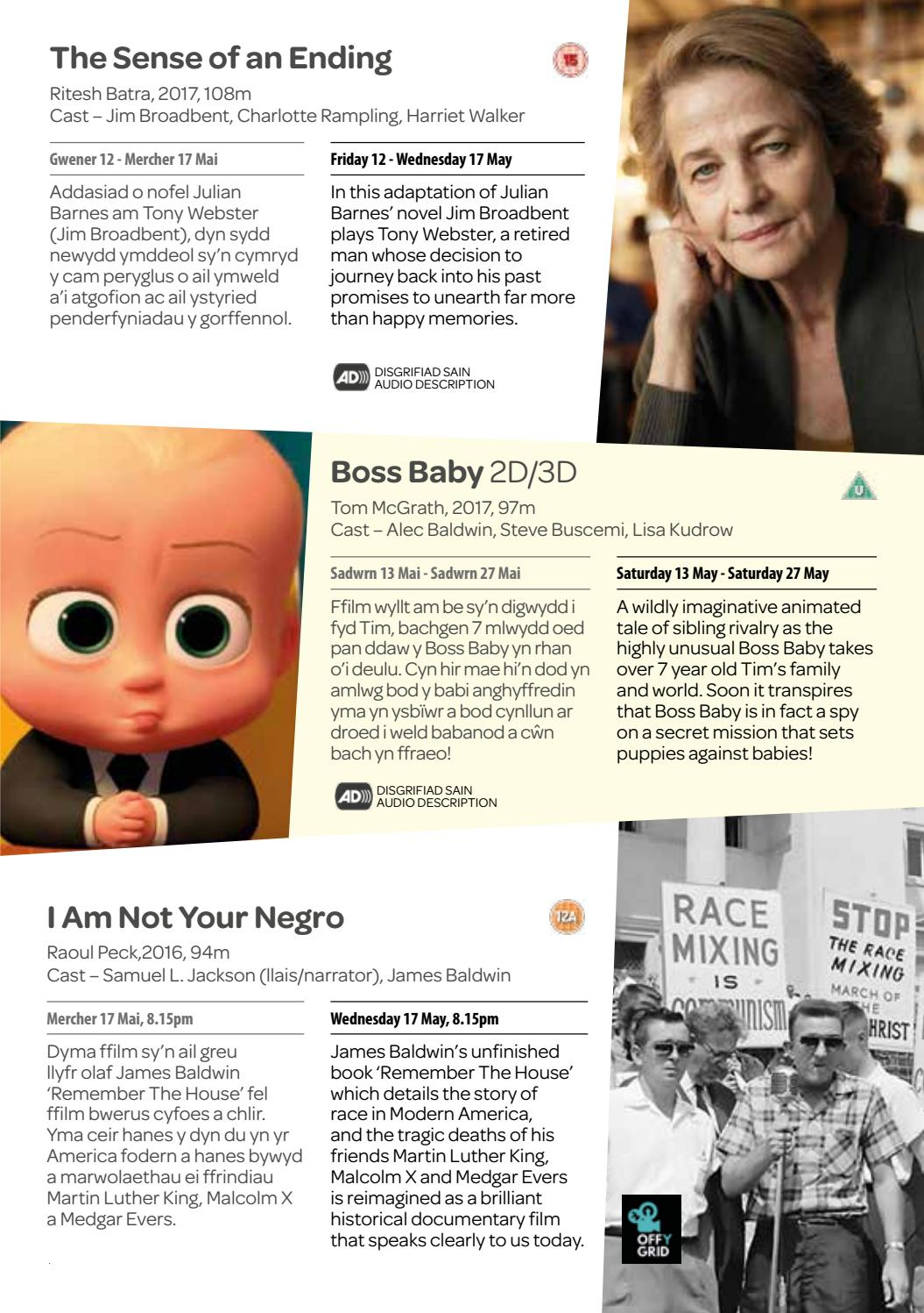 Pontio Cinema Mai/May 2017 by Pontio Bangor - issuu