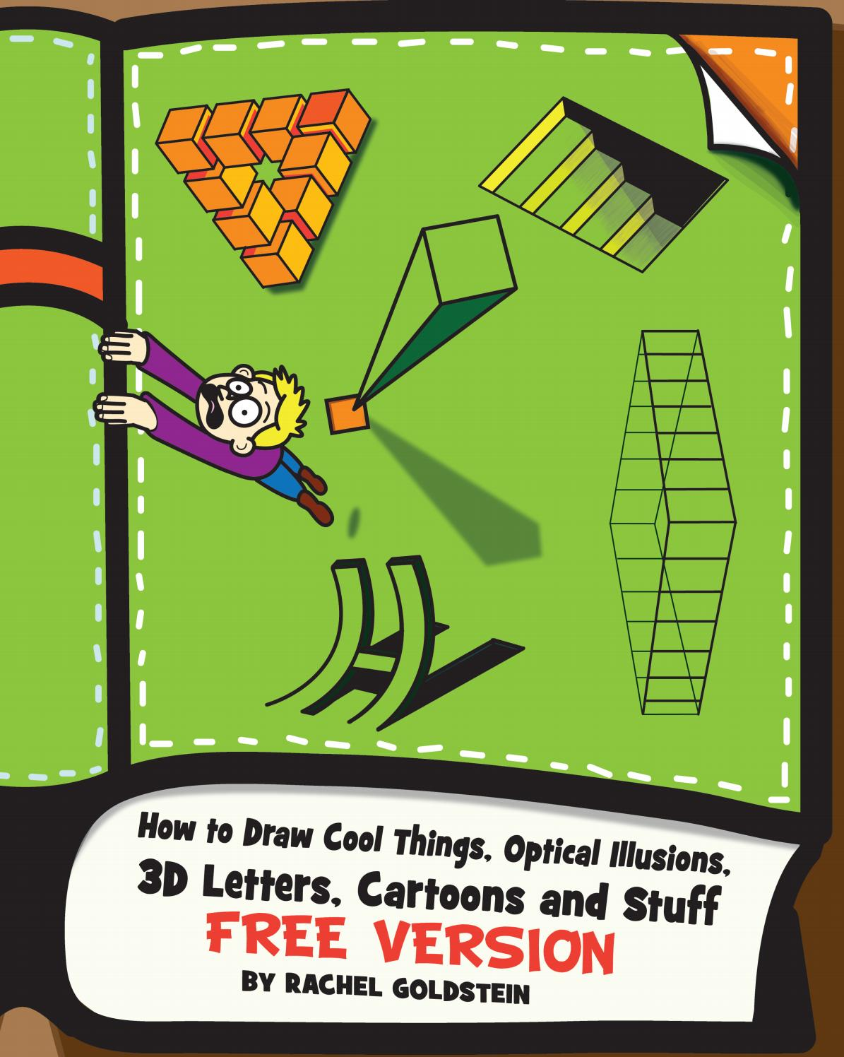 How To Draw Cool Stuff And Optical Illusions For Kids Parents And Teachers By Drawinghowtodraw Issuu