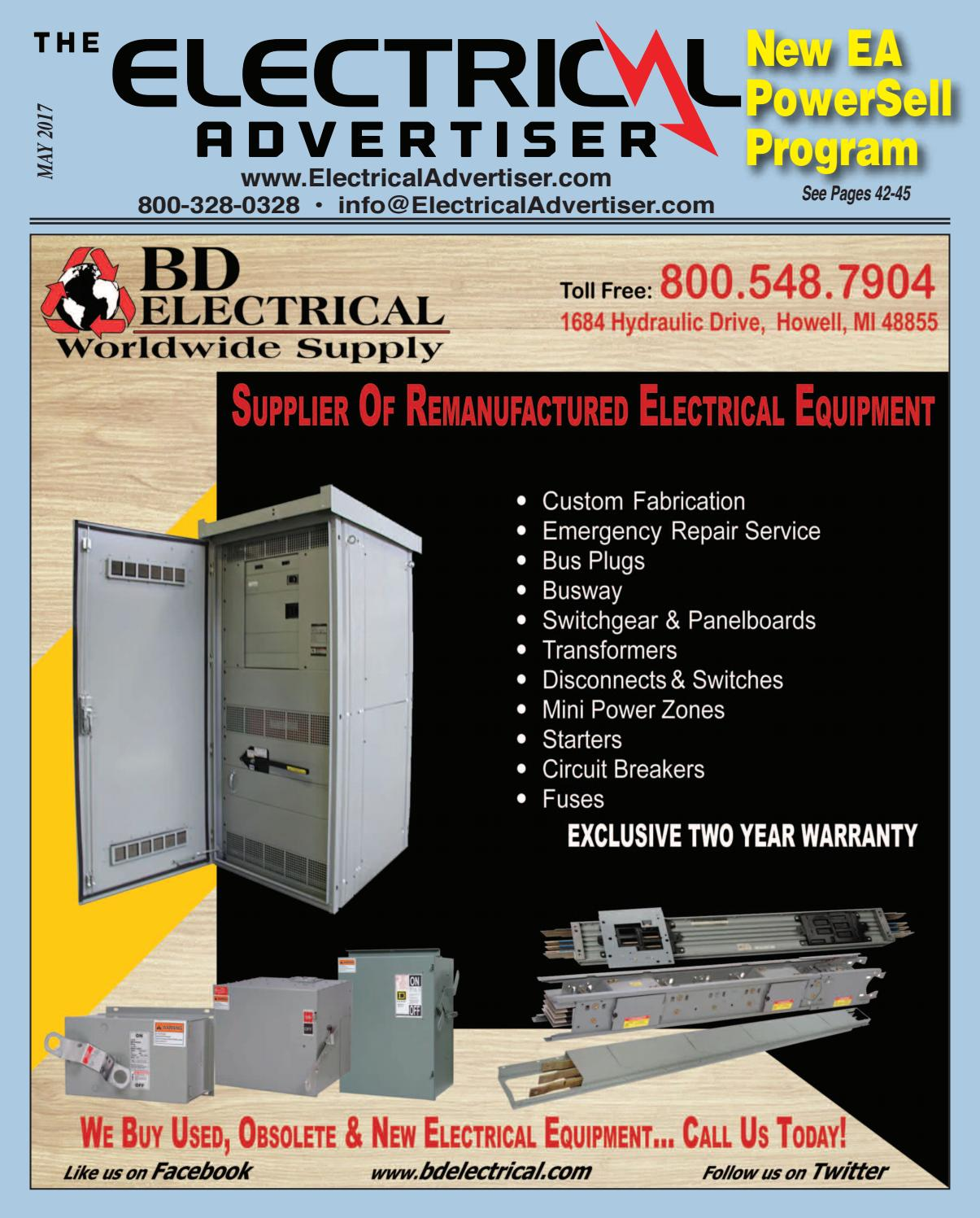 Electrical Advertiser May 2017 By Electrical Advertiser