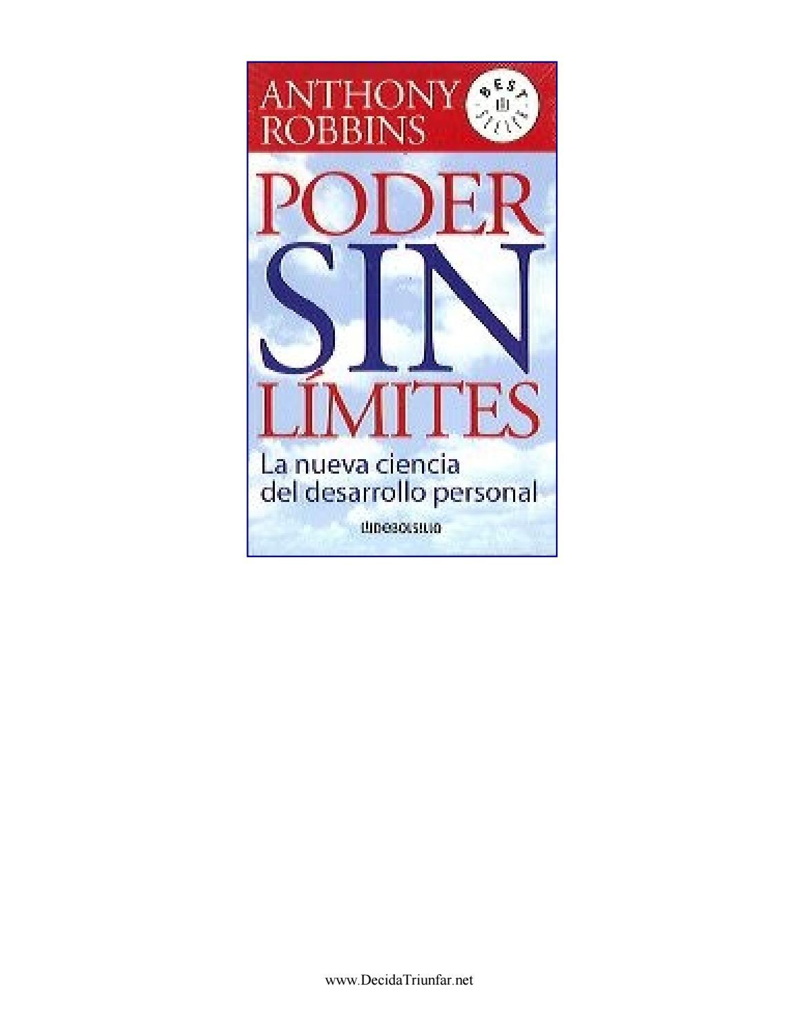Poder sin limites anthony robbins by Germain Ri - issuu