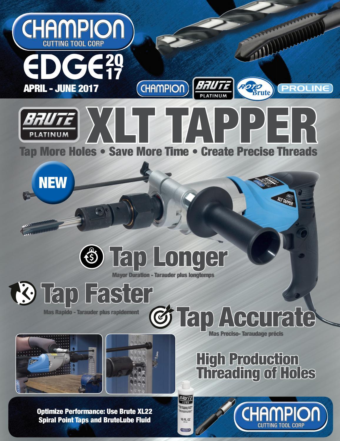 6//Each Champion Brute Mechanics Length Drill XL28-1//2