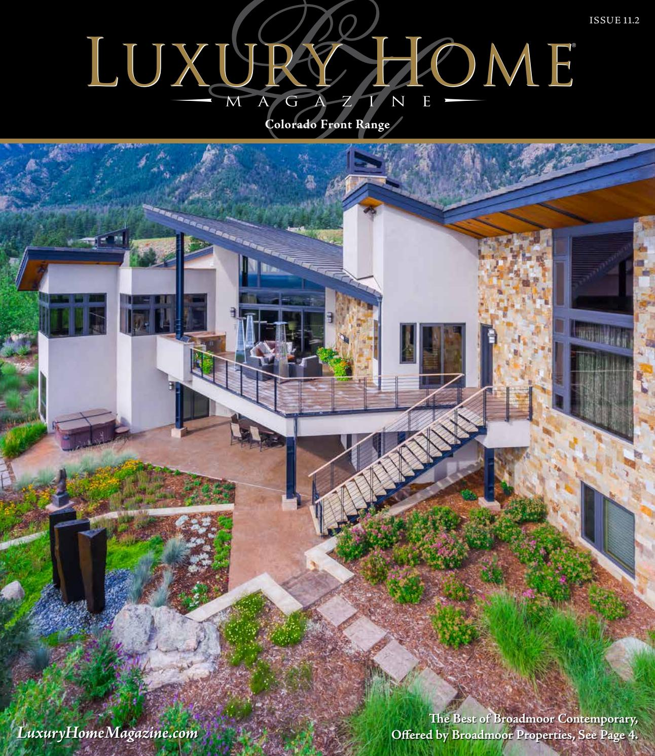 Luxury home magazine colorado front range issue 11 2 by for Front of house magazine