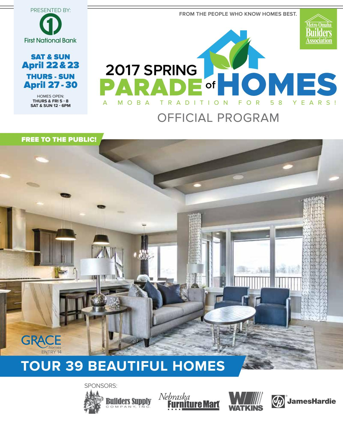 moba spring parade of homes 2017 by omaha world herald issuu