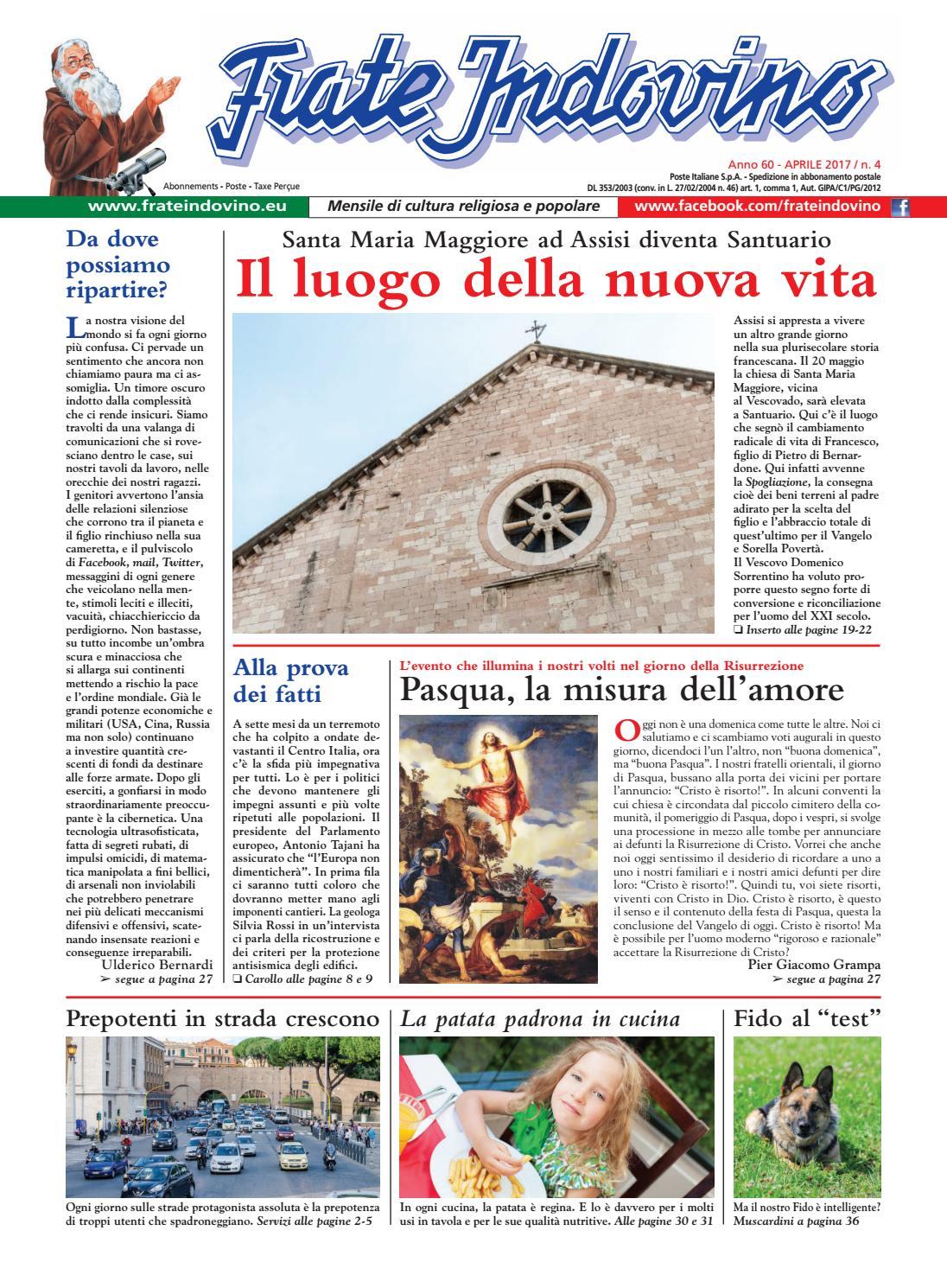 Aprile by Edizioni Frate Indovino - issuu af78fc5ad200