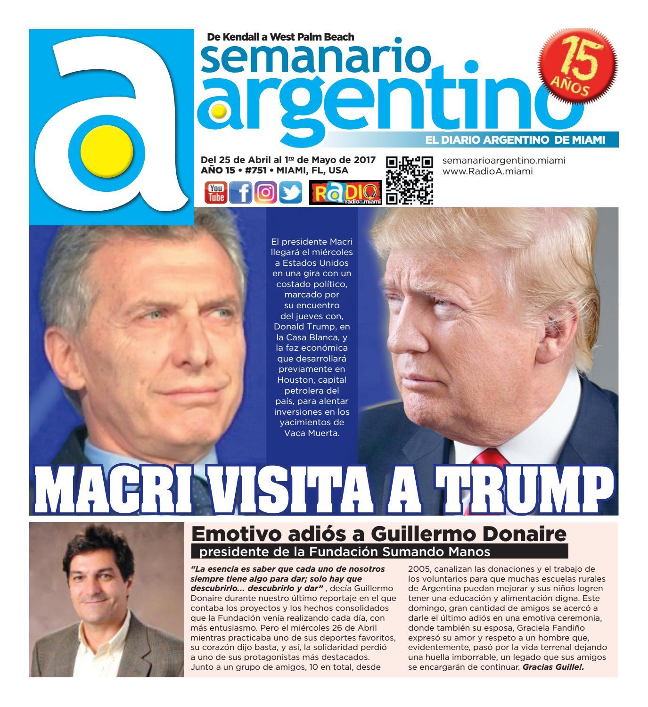 Semanario Argentino #751 del 25 de Abril al 1 de Mayo de