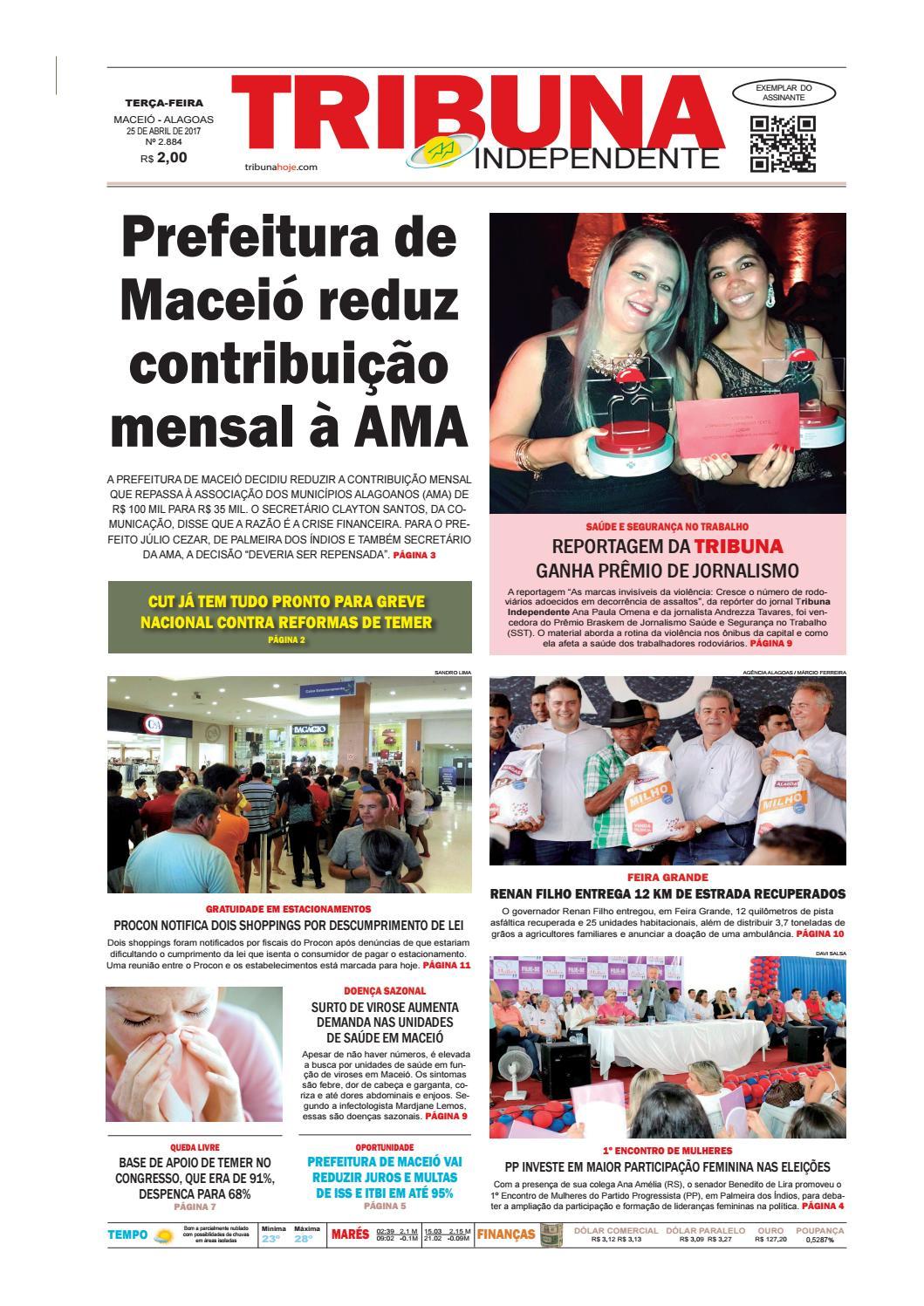 085d8265e Edição número 2884 - 25 de abril de 2017 by Tribuna Hoje - issuu