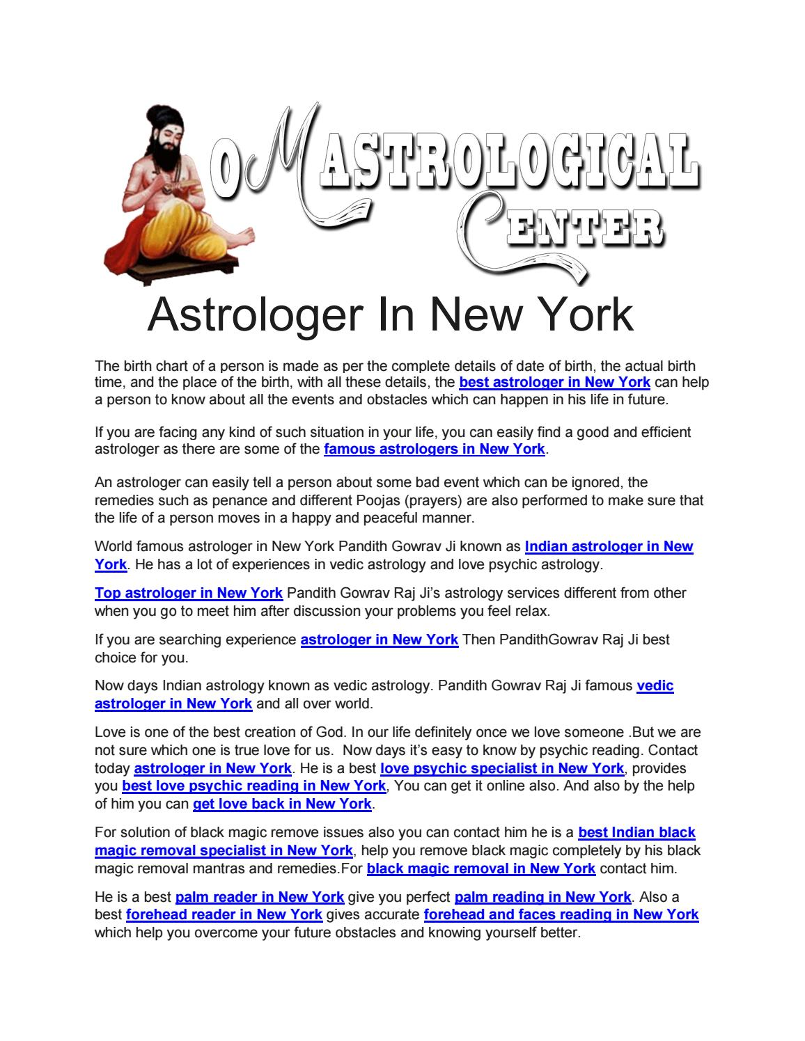 Astrologer in new york by indianvedicastrologer issuu nvjuhfo Images
