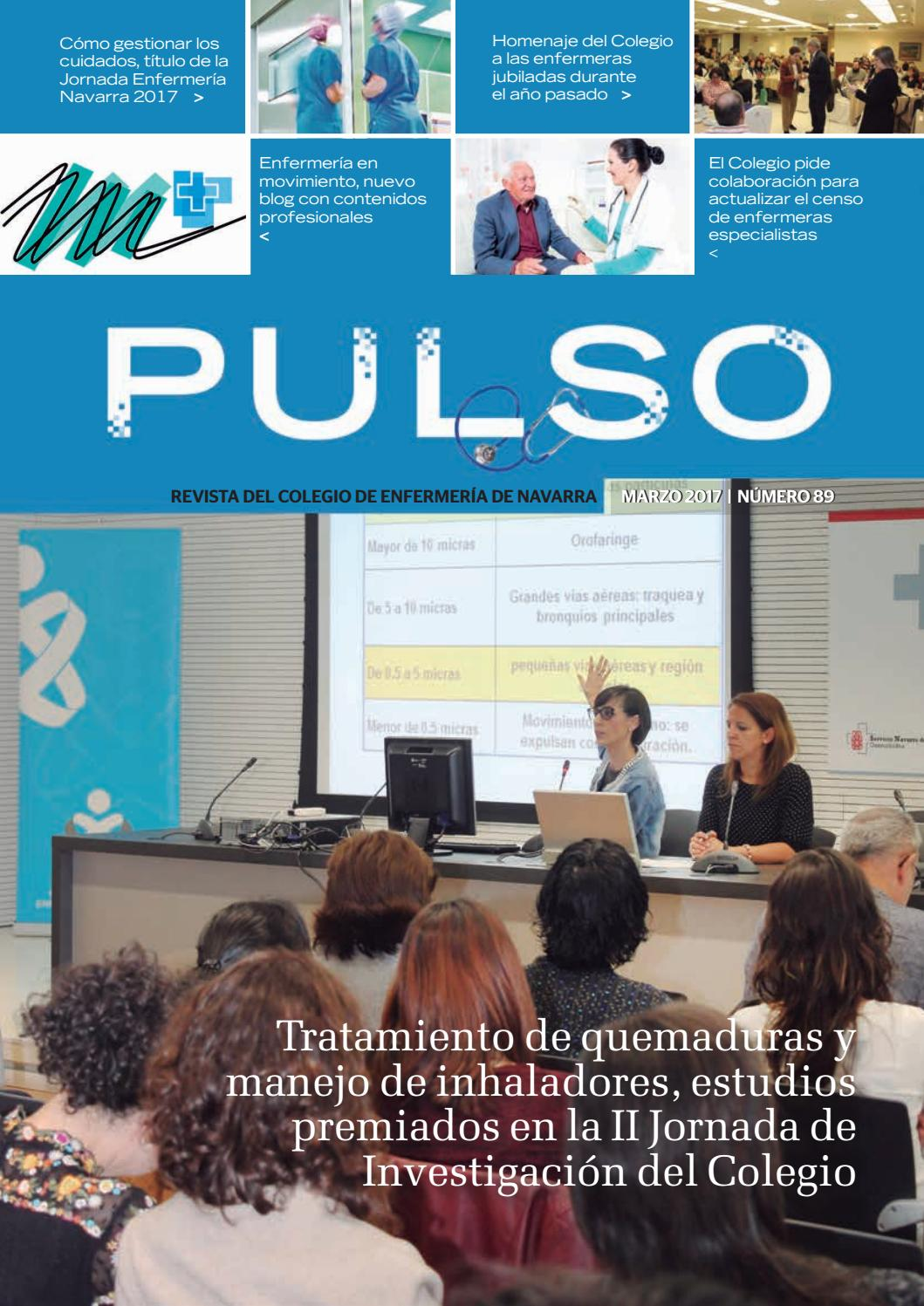 43e51eb690 Pulso 89 by Colegio de Enfermería de Navarra - issuu