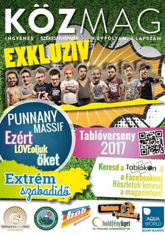 """Cover of """"KÖZMAG Tavasz Székesfehérvár"""""""