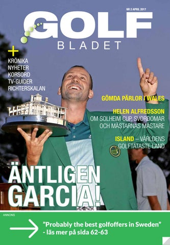 low priced a18b7 ab7bc Golfbladet 2017 2 by Fredrik Richter - issuu