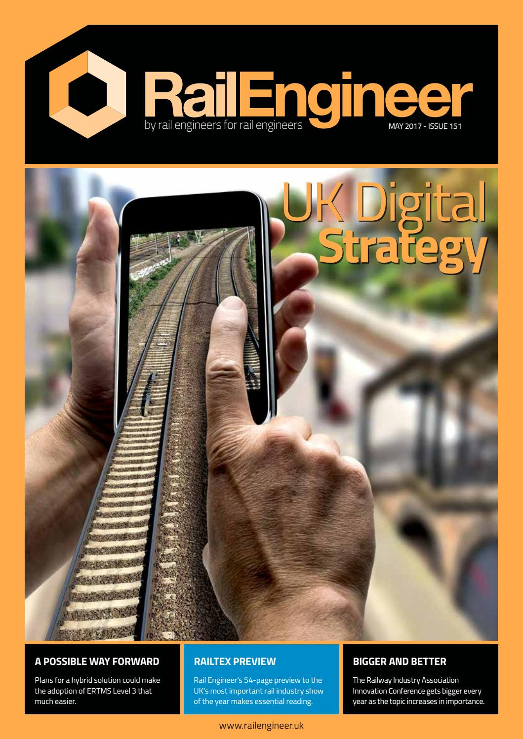 Rail Engineer Issue 151 May 2017 By Media Issuu Qr Code Standing In Front Of Circuit Board Stock Photo