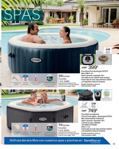 Awesome Jacuzzi Jardin Carrefour Pictures - House Design ...