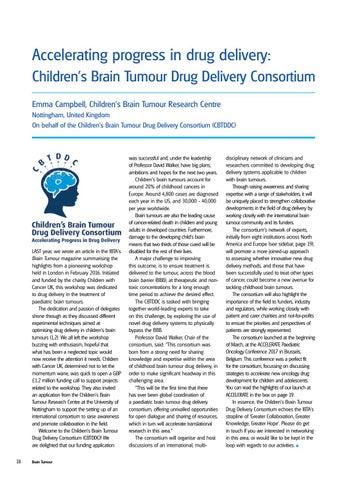 brain tumor research paper