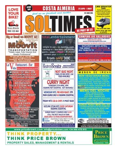 save off 85bc0 8026c Almeria 583 by Sol Times - issuu