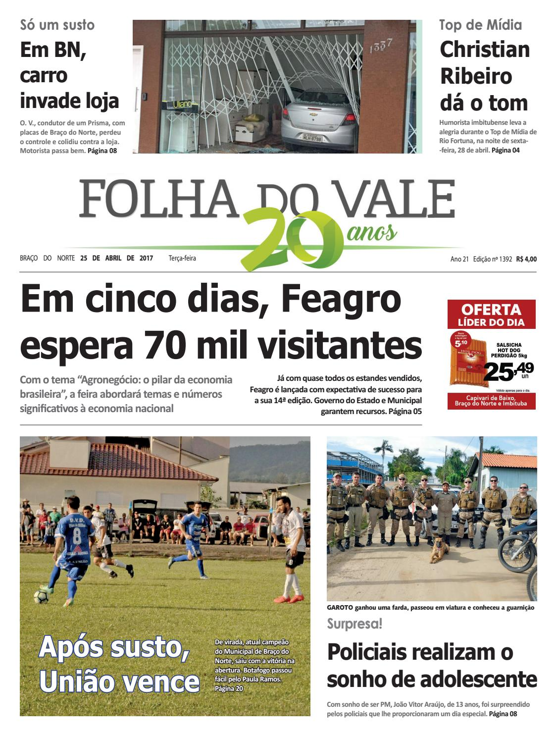 1392 by Folha do Vale - issuu 11d067c40c26f
