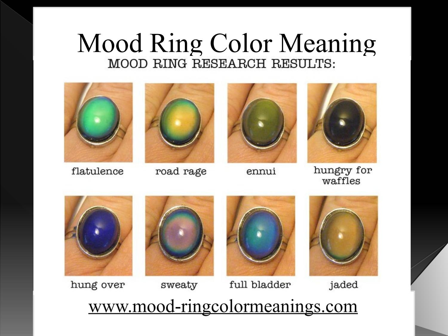Mood ring color meaning by Mood Ring Color - Issuu