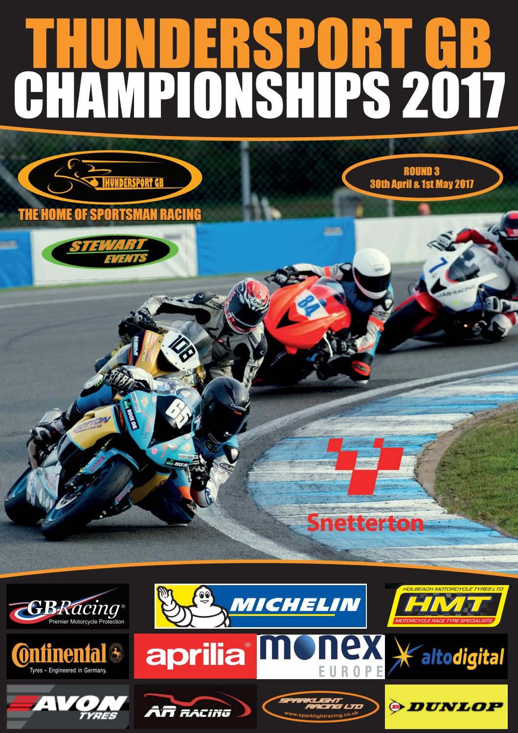 Snetterton complete programme by Thundersport GB - issuu
