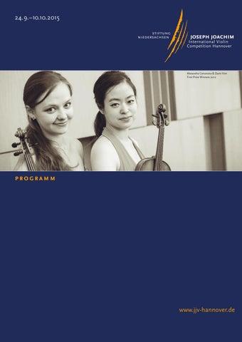 Brochure Jjv Hannover 2015 By Stiftung Niedersachsen Issuu