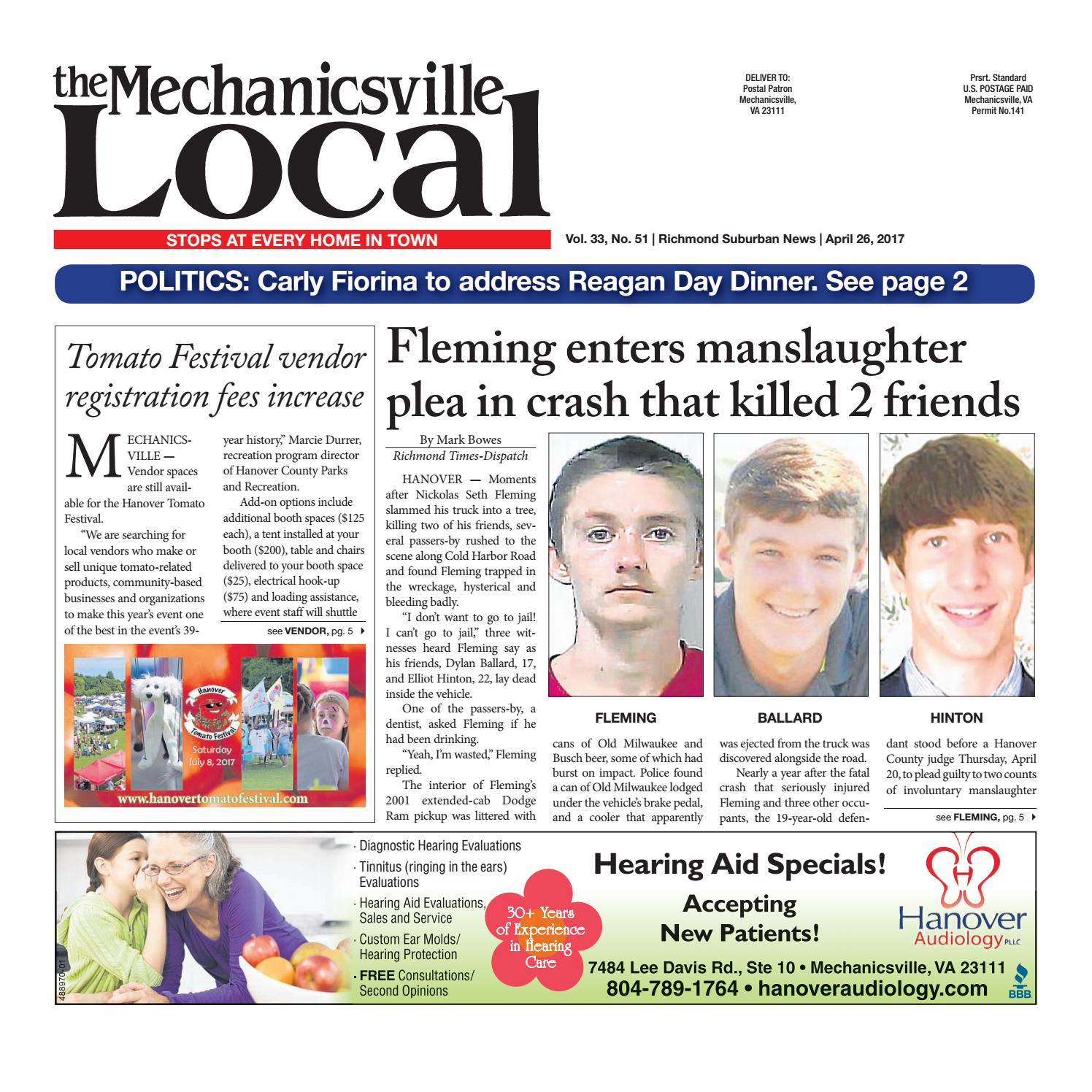 04/26/17 by The Mechanicsville Local - issuu