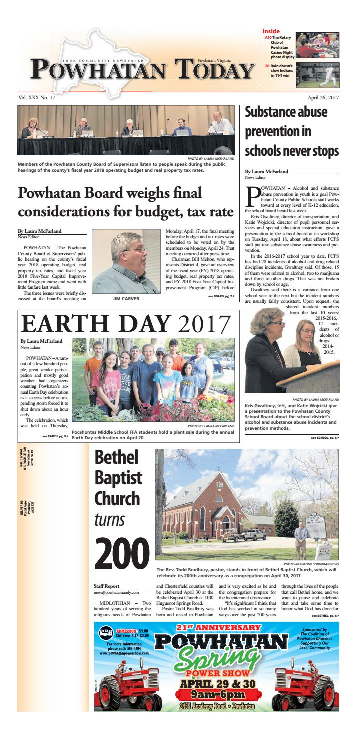 04/26/2017 by Powhatan Today - issuu