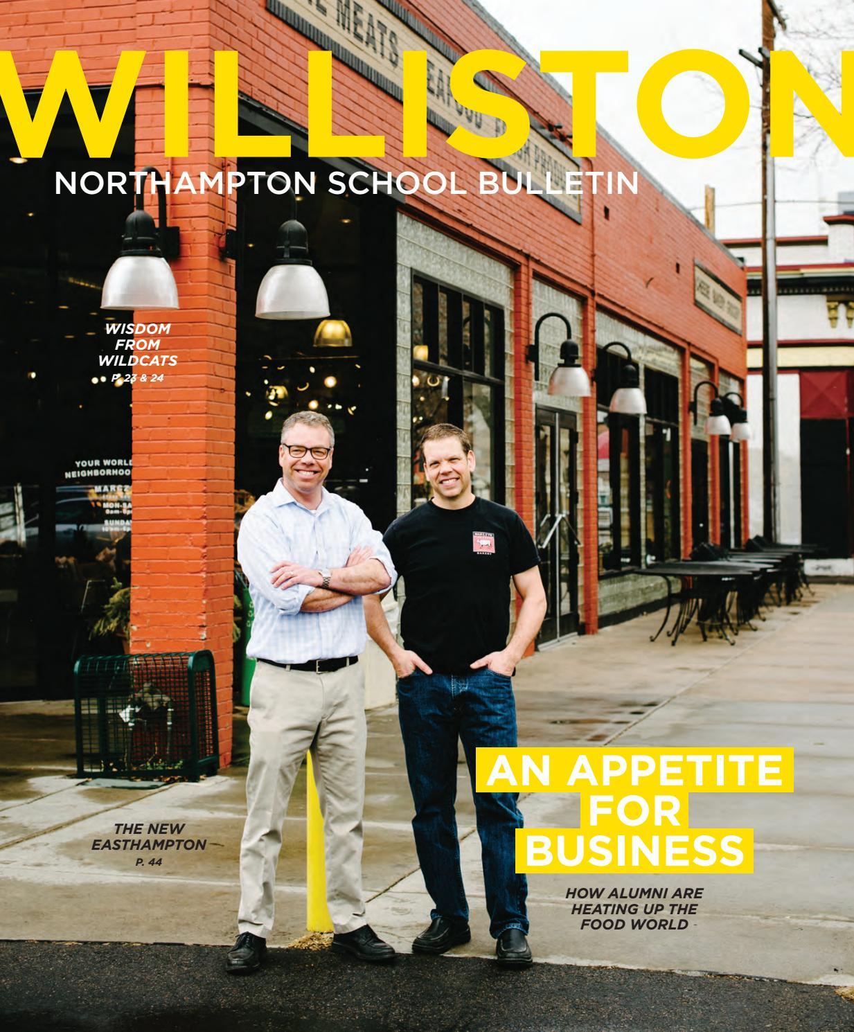 The williston northampton school bulletin by williston for The williston