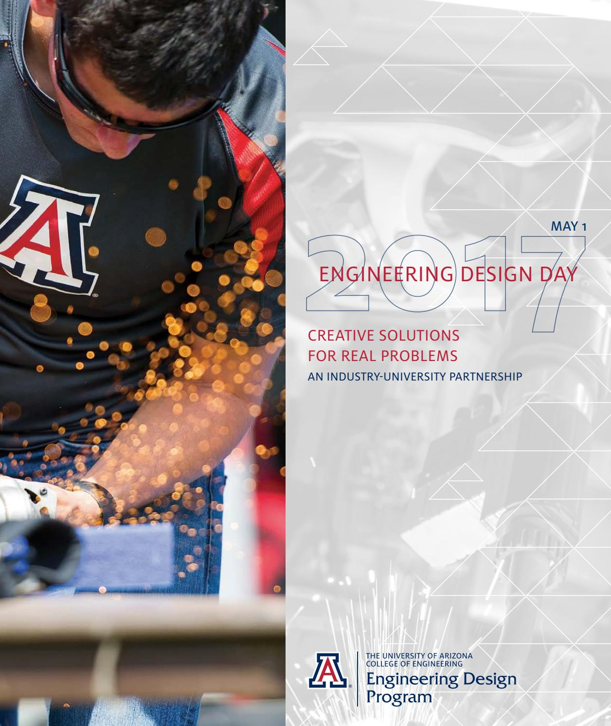 Ua Engineering Design Day Book 2017 By University Of Arizona College Hamilton Printed Circuit Board Pcb Has Been Issuu