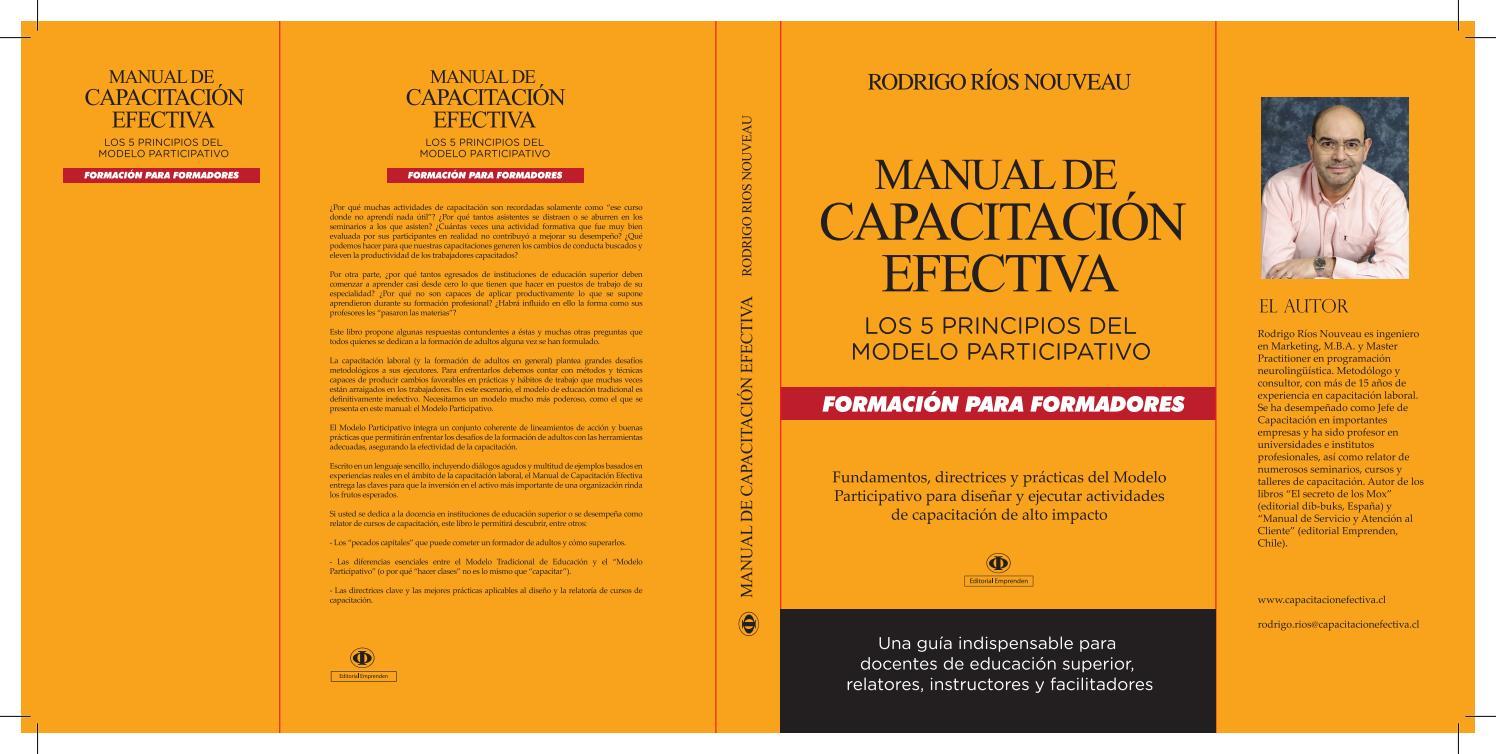 Manual de Capacitación Efectiva by Rodrigo Ríos - issuu