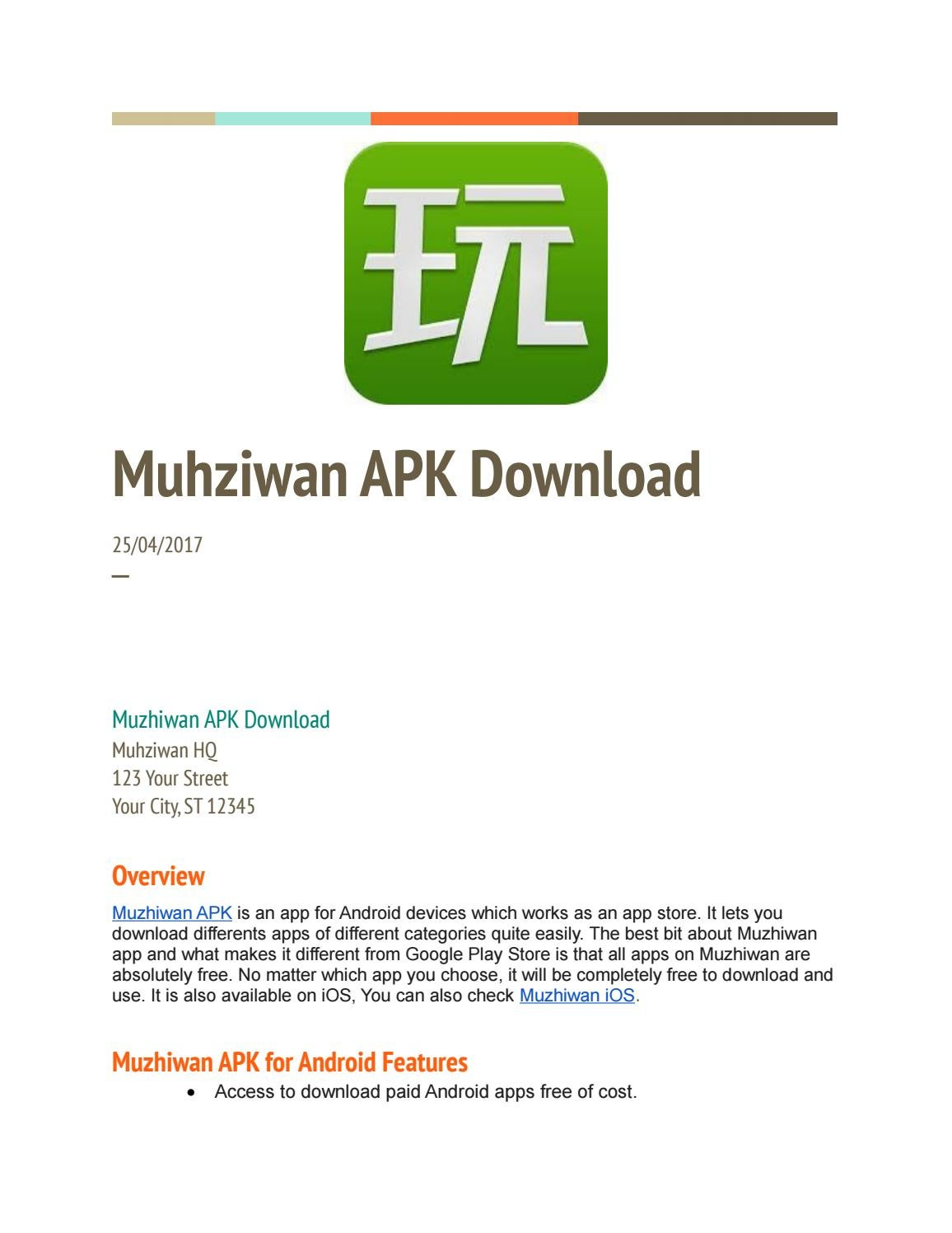 Muhziwan Apk Download By Muzhiwan Apk Download Issuu
