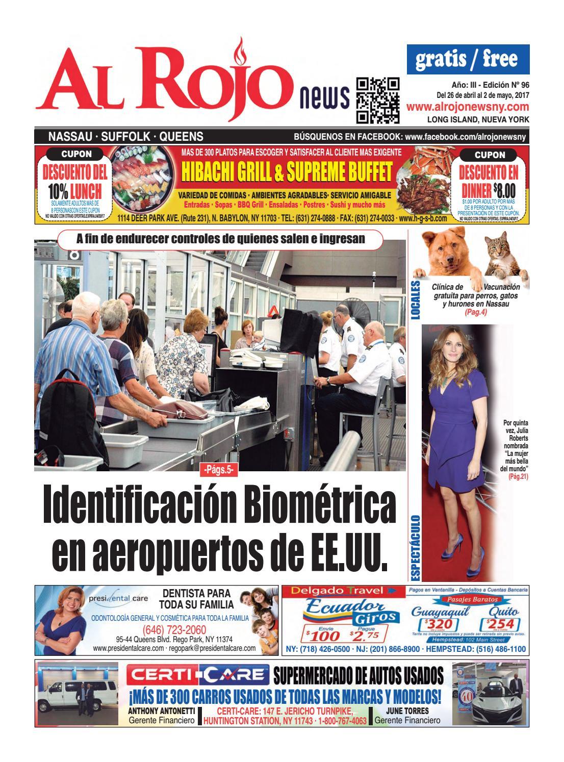 Al Rojo News año III edición 96 by Jose Rivas - issuu