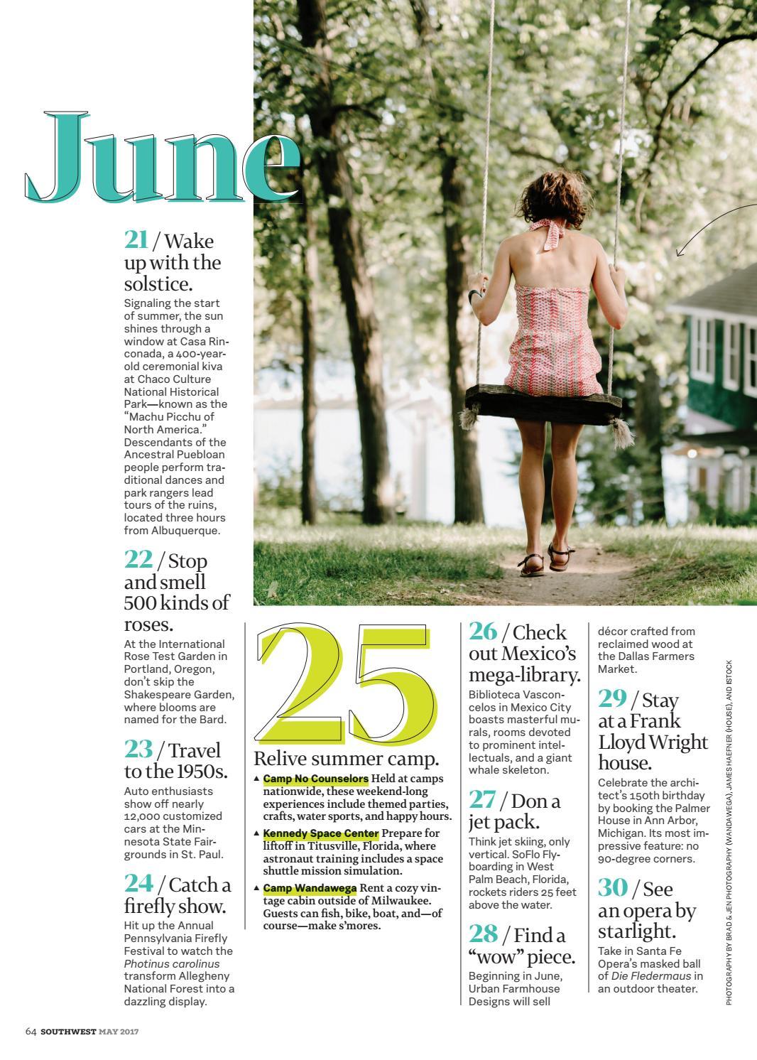 May 2017 by Southwest: The Magazine - issuu