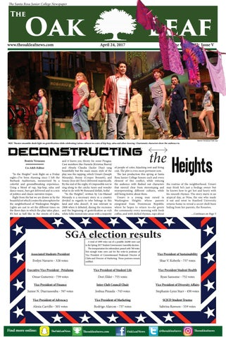 Oak Leaf Spring 2017 Issue 5 by The Oak Leaf News - issuu