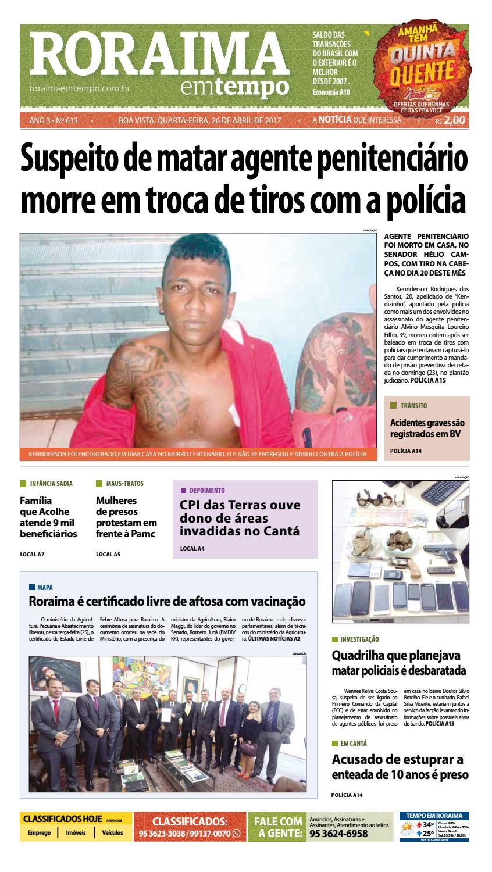 Jornal roraima em tempo – edição 613 by RoraimaEmTempo - issuu d9d8978a9a8eb
