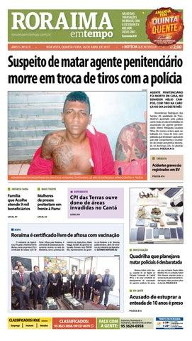 Jornal roraima em tempo – edição 613 by RoraimaEmTempo - issuu 1e2688dec9d0d