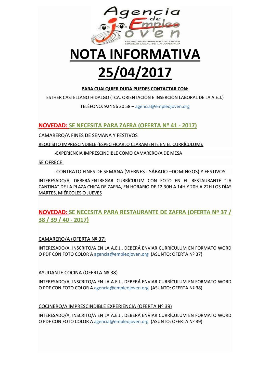 Nota informativa 25 by Segura Al Día - issuu