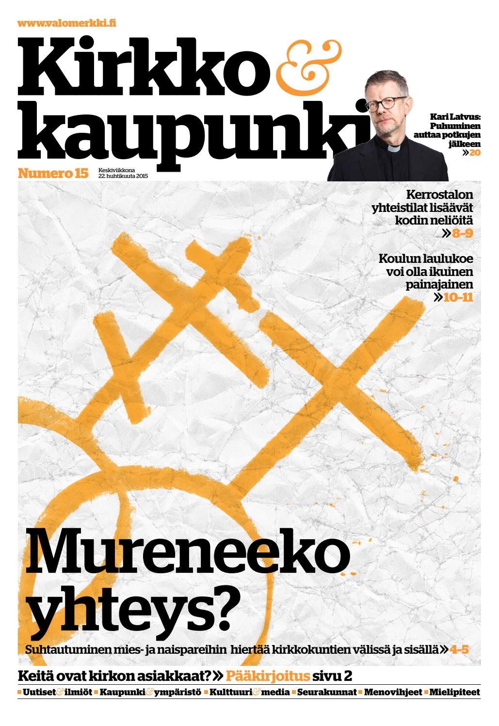 K k 2015 nro 15 by Kirkko ja kaupunki - issuu 67a3c8a9f8