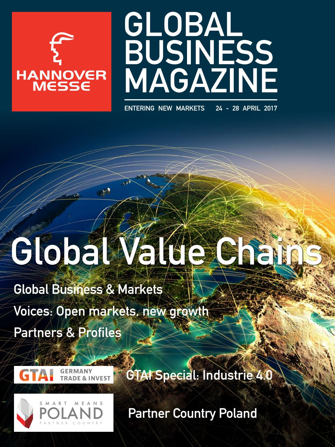Global Business Magazine Hannover Messe 2017 by local global GmbH ...