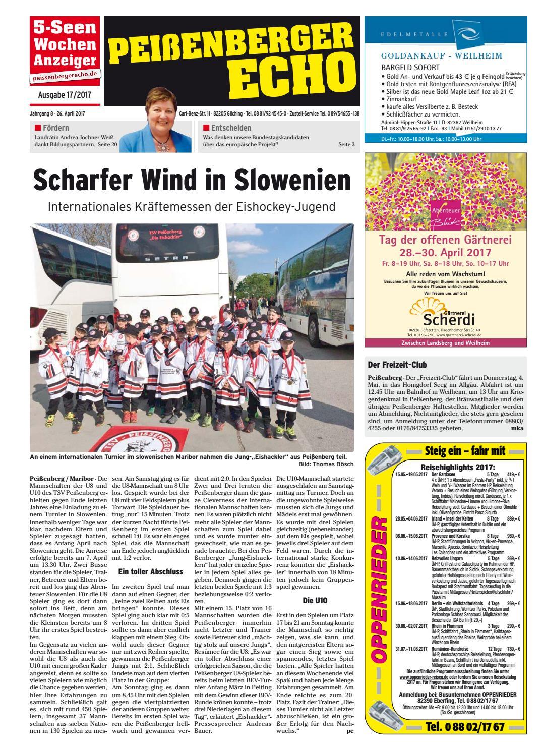 KW 17-2017 by Wochenanzeiger Medien GmbH - issuu