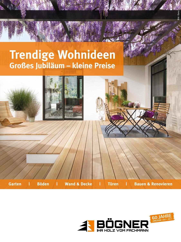 Holz Bögner 2017 | Trendige Wohnideen | Großes Jubiläum – kleine ...