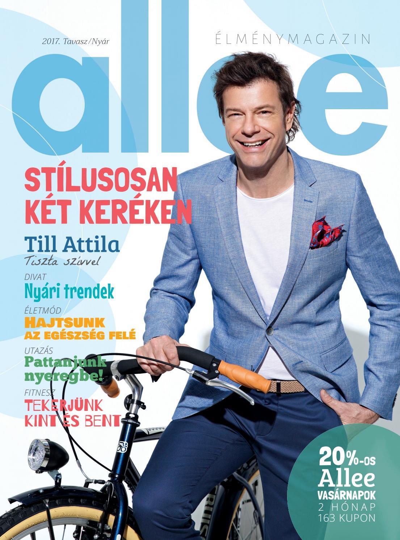 Allee Magazin 2017 (tavasz nyár) by Allee Bevásárlóközpont - issuu baa0733aa6
