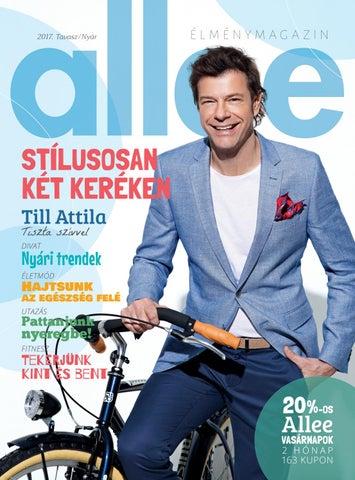 2b7c33db1d Allee Magazin 2017 (tavasz/nyár) by Allee Bevásárlóközpont - issuu