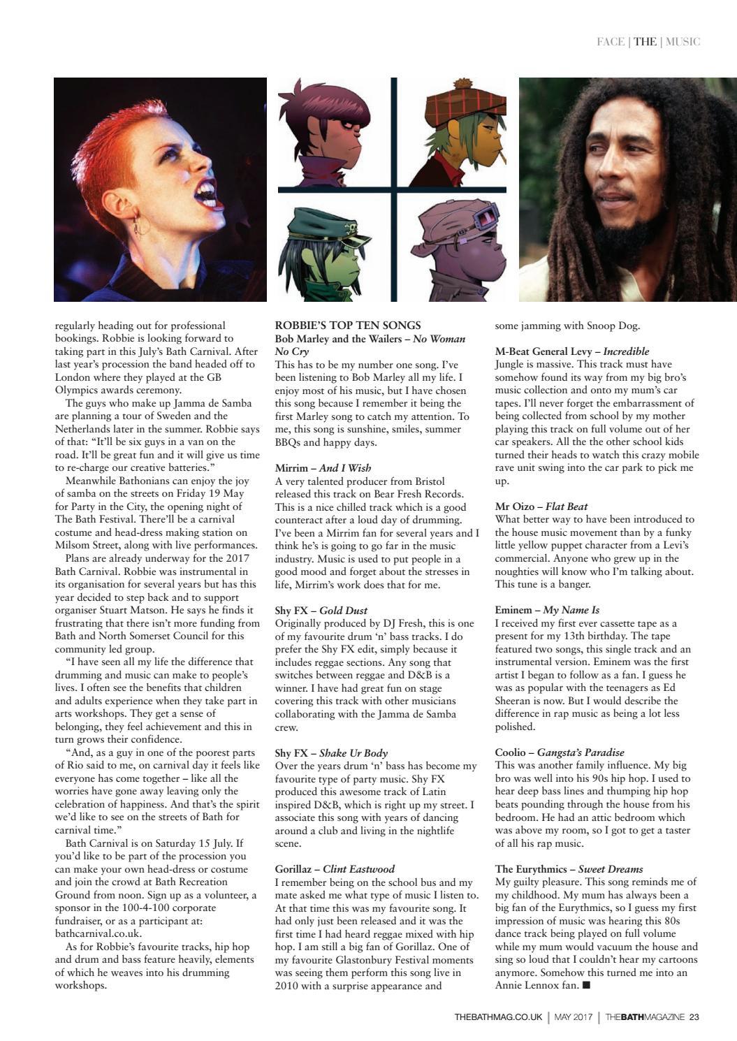 The Bath Magazine May 2017 by MC Publishing Limited - issuu