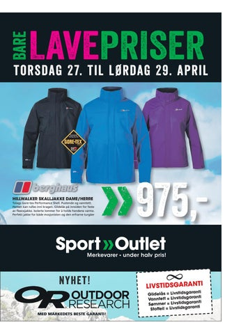 2b611816 Sport Outlet kundeavis by Triaden - issuu