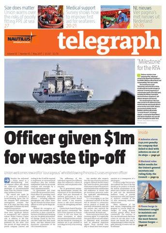 Nautilus Telegraph May 2017 by Redactive Media Group - issuu